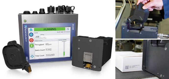 Принтер Videojet 8610 обеспечивает непревзойденную печать на пленках, фольге, пластике и гладкой картонной упаковке
