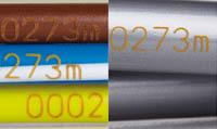 Пример маркировки лазером проводов и экструзии